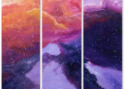 Cosmogonía 1 – Tintos (Tríptico)