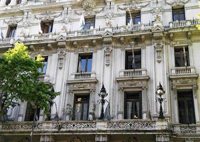 casa de la cultura de la ciudad de buenos aires fachada