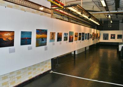 pared de cuadros