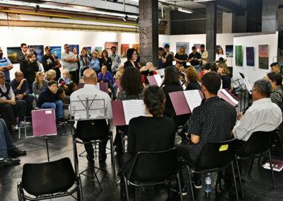 orquesta y publico