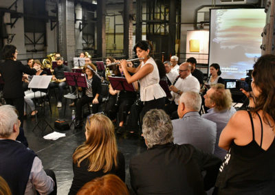flautista en concierto