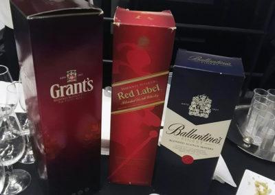 cajas de whisky