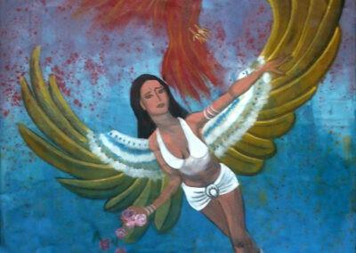 Ángel del Pájaro de Fuego