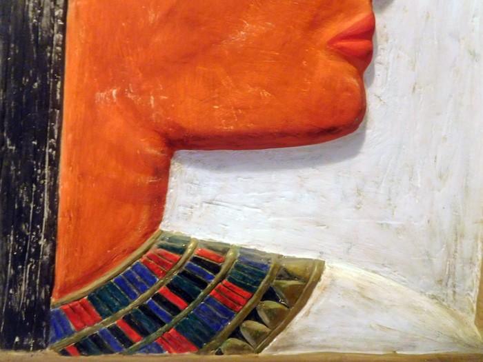 Bajorrelieve Egipcio detalle