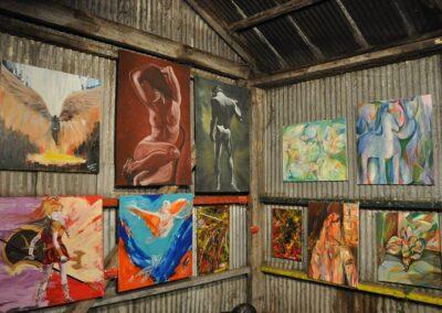 Expo Emergentes en ARTEME Gisela García Gleria