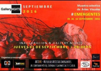 Emergentes en ARTEME Gisela García Gleria