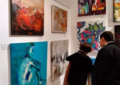 Exposición Premio Internacional de Arte Pintar 2019 Gisela García Gleria