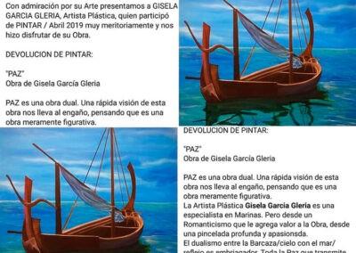 Expo Pintar 2019 Gisela García Gleria