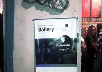 Expo Gallery Nights en ARTEME Gisela García Gleria