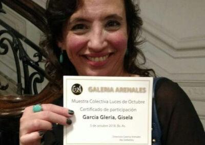 Luces de Octubre Gisela García Gleria