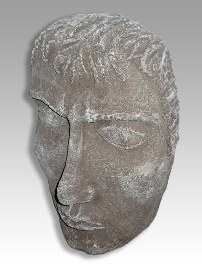 Mascara con patina de piedra Gisela García Gleria